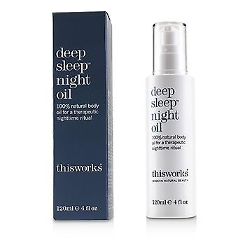 This Works Deep Sleep Night Oil - 120ml/4oz