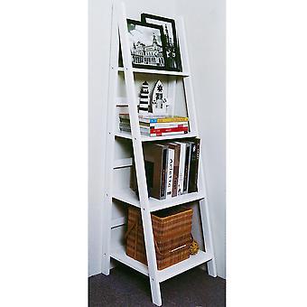 Scott - Ladder 4 Tier Gloss opslag / Display rekken - wit