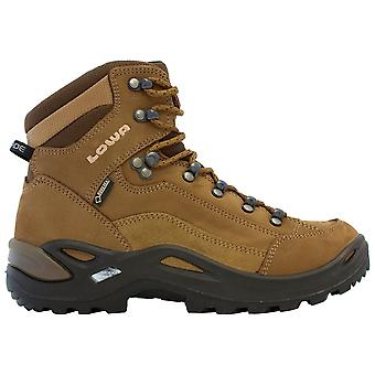 Lowa Taupe/sepia Womens Renegade GTX Mid Walking Boots