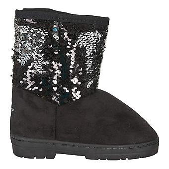 bebe Girls Winter Boots with Reversible Sequins Casual Shoes