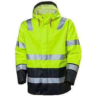 Helly Hansen Hombres Alna impermeable Hi Vis chaqueta de trabajo