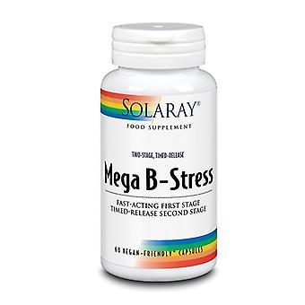 Solaray duas fases mega B-stress cápsulas 60 (87807)