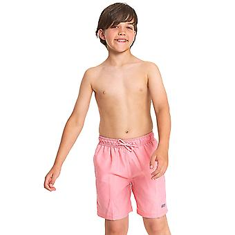 Zoggs Boys Mosman Washed Swim Shorts - Pink