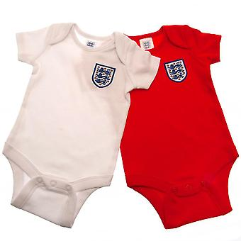 England FA Babies Bodysuit (2 Pack)