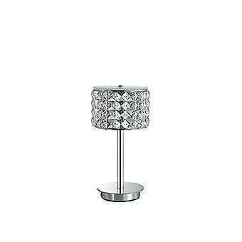 1 Light Table Lamp Chrome