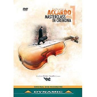 Vol. 1-Salvatore Accardo: Masterclass in Cremona V [DVD] USA import