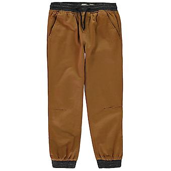 No Fear Boys Ribbed Waistband Chinos Junior Casual Trousers Bottoms Pants Kids