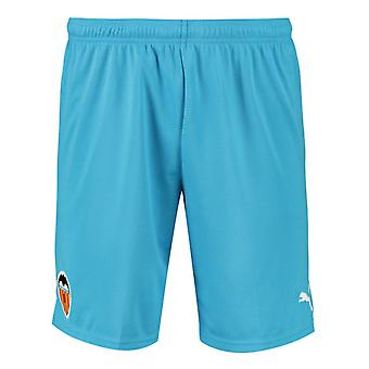 2019-2020 Valencia Third Puma Shorts (Blue)