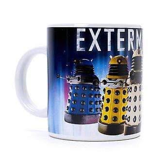 Läkare som Daleks utrota kaffekopp
