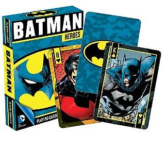 Playing Card - DC Comics - Batman Heroes Poker Licensed Gifts Toys 52266