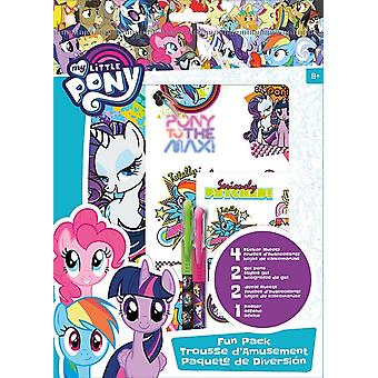 Fun Packs Stickers - My Little Pony - w/Tattoos Games Toys Set st6944