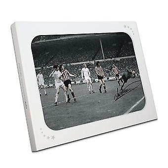Jim Montgomery podpisane zdjęcie: Finał FA Cup zastanawiam się Zapisz. W pudełku prezentowym
