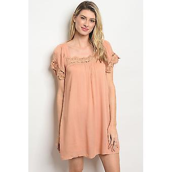 Abrikoos Lace Dress