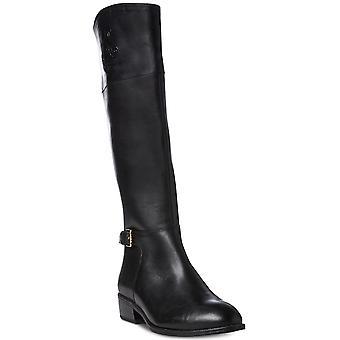 LAUREN by Ralph Lauren Womens Madisen Almond Toe Mid-Calf Fashion Boots