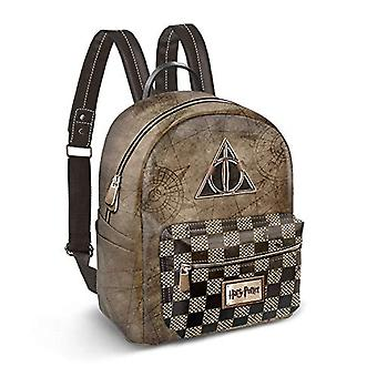 Karactermania Harry Potter Relic-Soft Backpack (Small) Casual Backpack - 27 cm - 7.5 liters - Multicolor (Multicolour)