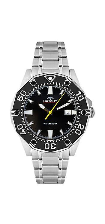 R0083/AGB90030-W-04 Men-apos;s Rotary Watch
