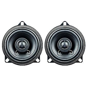 PG audio BM-4, haut-parleur coaxial de 10 cm adaptable sur BMW série 1 (E81, E82, E87, E88), série 3 (E90, E91, 2, 8) série 5 (E60,/), x1 (E84) 1 paire