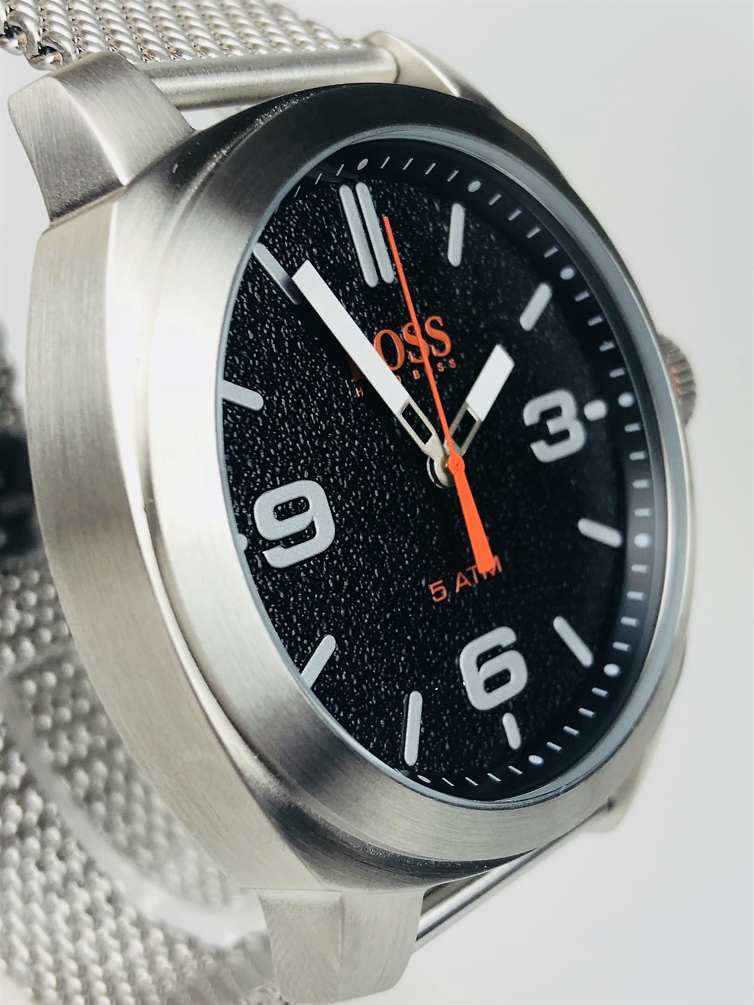 Hugo Boss Orange Cape Town Stainless Steel Mesh Strap Men's Watch 1550013
