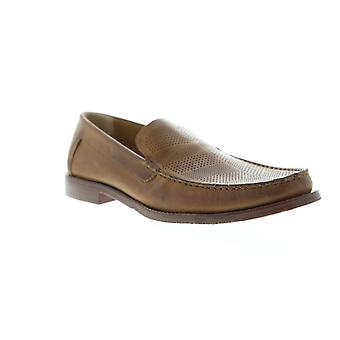 Tommy Bahama Felton 2  Mens Tan Brown Casual Slip On Loafers Shoes
