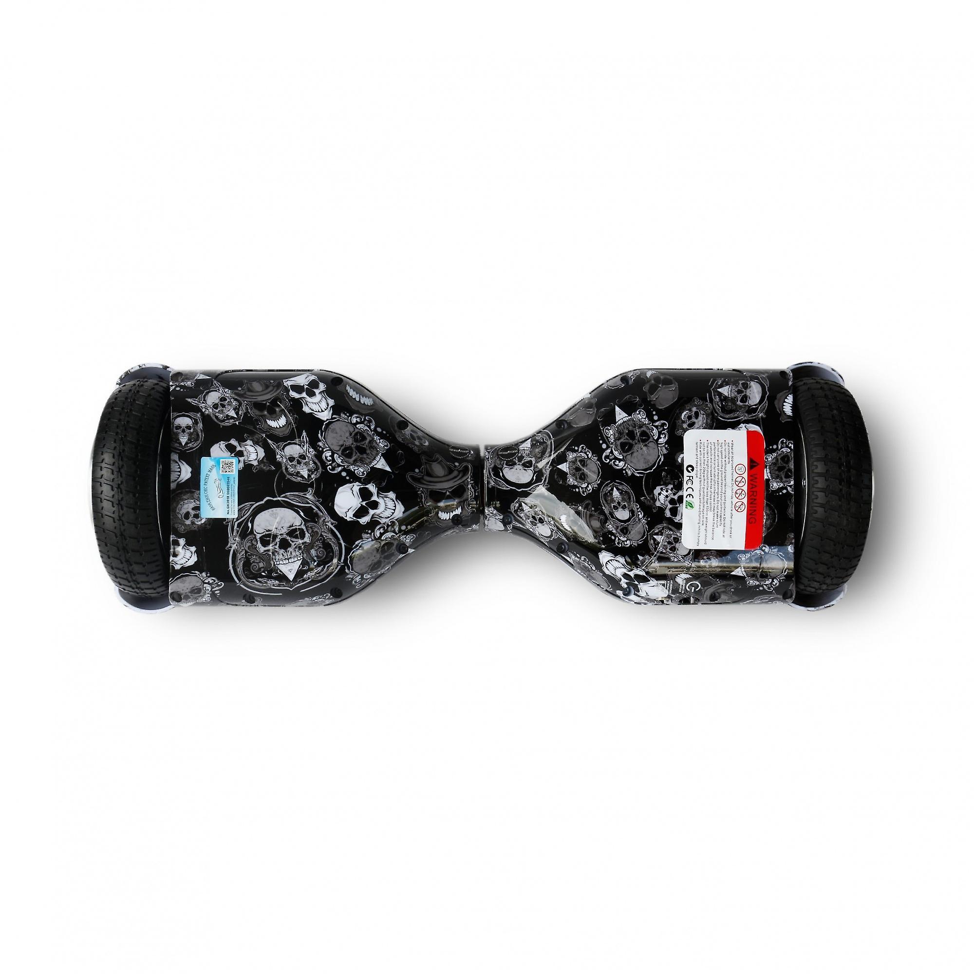 Hoverboard Skateflash K6 skelet Bluetooth + transport tas