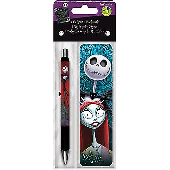 Gel Pen - Nightmare Before Christmas - w/Bookmark Packs Toys Gifts Stationery New iw3520