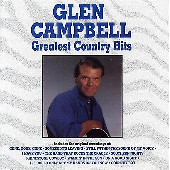 Glen Campbell - Greatest Country Hits [CD] USA import