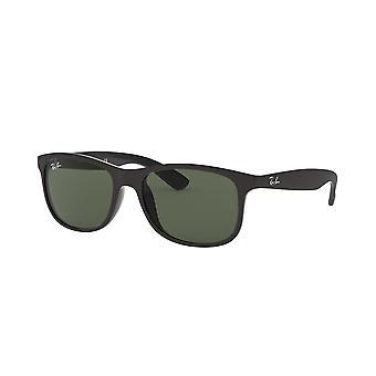Ray-Ban Andy RB4202 6069/71 Matte BLACK/Dark Grey Sunglasses