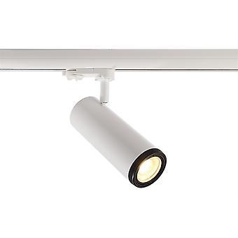 LED Schienenstrahler Pleione Focus I 14W 3000 K 25° - 60° 181x68mm weiß IP20