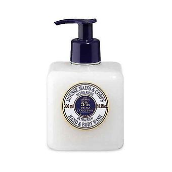 L'occitane shea milk ultra rich hand & body wash 300ml