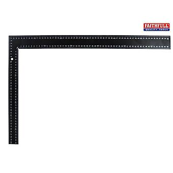 Faithfull Black Steel Roofing Square 600 x 400mm