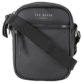 Ted Baker Pearce Textured Mini Bolsa de Vuelo - Negro
