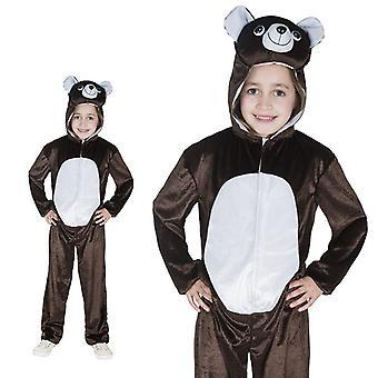 Brown bear one piece Teddy grumpy bear costume children costume