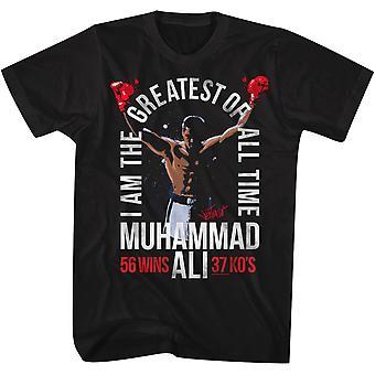 كلاسيكيات أمريكا محمد علي 2016 تي شيرت - أسود