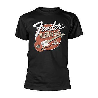 Fender Mustang Electric Bass Guitar Official T-Shirt