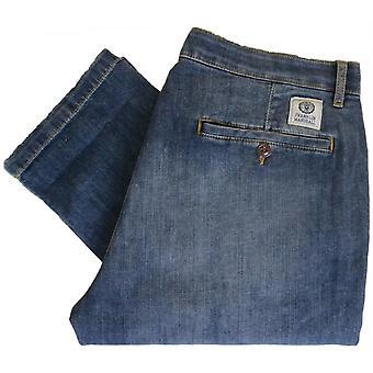 Franklin & Marshall zachte Slim Fit Extreme Wash Jeans