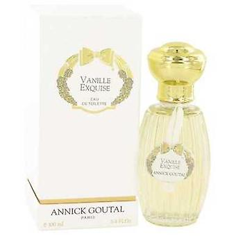 Vanille Exquise بواسطة Annick Goutal Eau De Toilette Spray 3.4 Oz (نساء) V728-501556