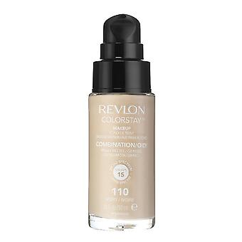 Revlon Colorstay Make-Up für Kombination / fettige Haut 110 Elfenbein 30ml