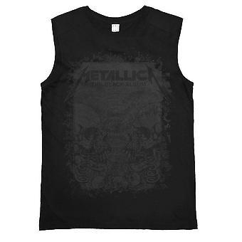 Amplified Metallica L'album nero Donna' T-shirt senza maniche