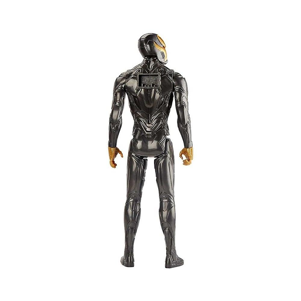 Marvel Avengers Iron Man Black / Gold Endgame Titan Hero 12 Tums Action Figur