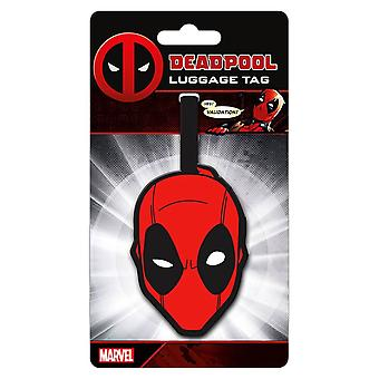 Marvel Deadpool Gepäck Tag