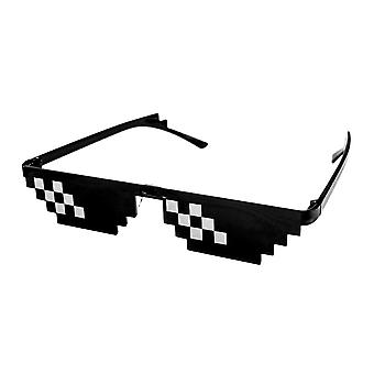 Pixel glasses, 2 strokes