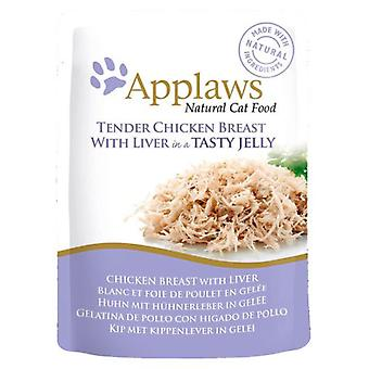 Applaws Chicken with Liver in Jelly (Cats , Cat Food , Wet Food)