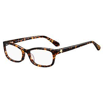 Kate Spade Lizabeth 086 Dark Havana Glasses