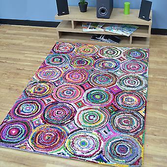 Katoen Chindi Rainbow veelkleurige tapijten 05