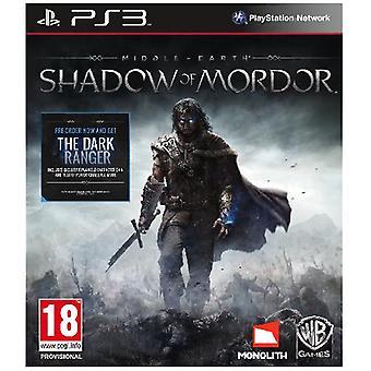 Middle-Earth Shadow Mordor PS3 peli