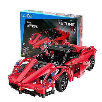 CaDFI, Radio Controlled Car - Red