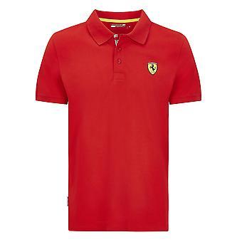 Scuderia Ferrari Men's Classic Polo Shirt | Vermelho | 2020