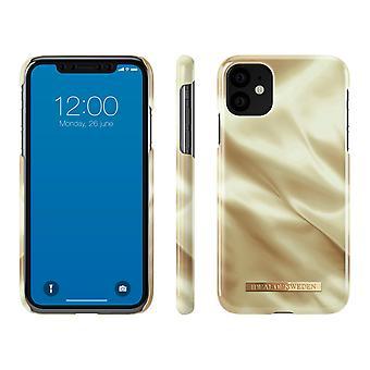 iDeal von Schweden iPhone 11 / XR Schale - Honig Satin
