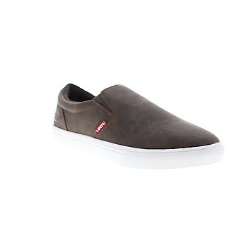 Levis Jeffrey 501 Slip On WX  Mens Brown Lifestyle Sneakers Shoes