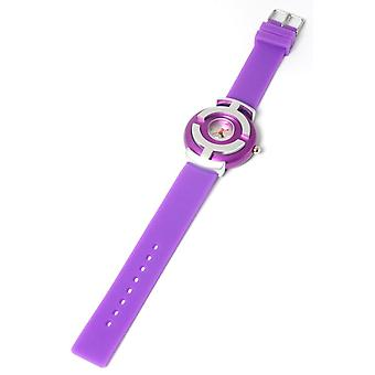 Kool Time Ladies Analogue Purple Orb 2 Silicone Strap Ladies Fashion Watch KT48